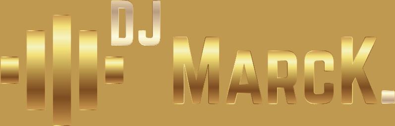 DJ MarcK Logo - Der Hochzeits- und Event DJ.