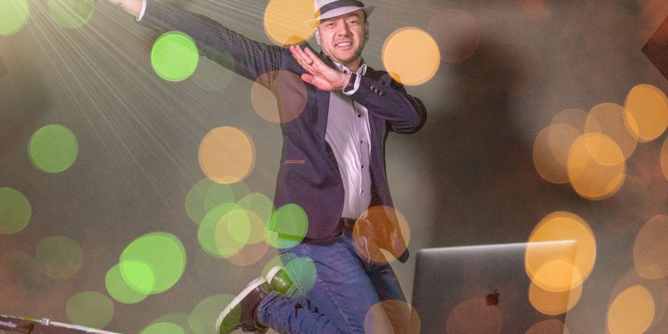 DJ MarcK - Mein erster Blog-Beitrag